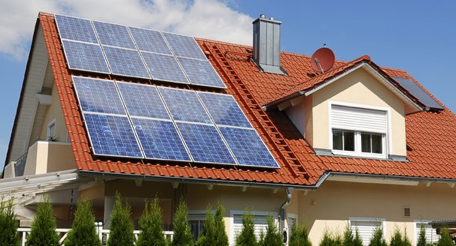 Solar Panels on Metal / Steel Tile Panels