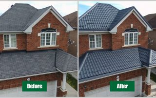 Camero metal roof before-after grand terra