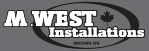 M West metal roofing installations
