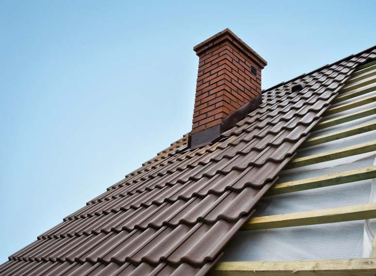 Metal Roofing on Townhouse or SemiDetached home Camero metal – How To Tie A Metal Roof To A Shingle Roof