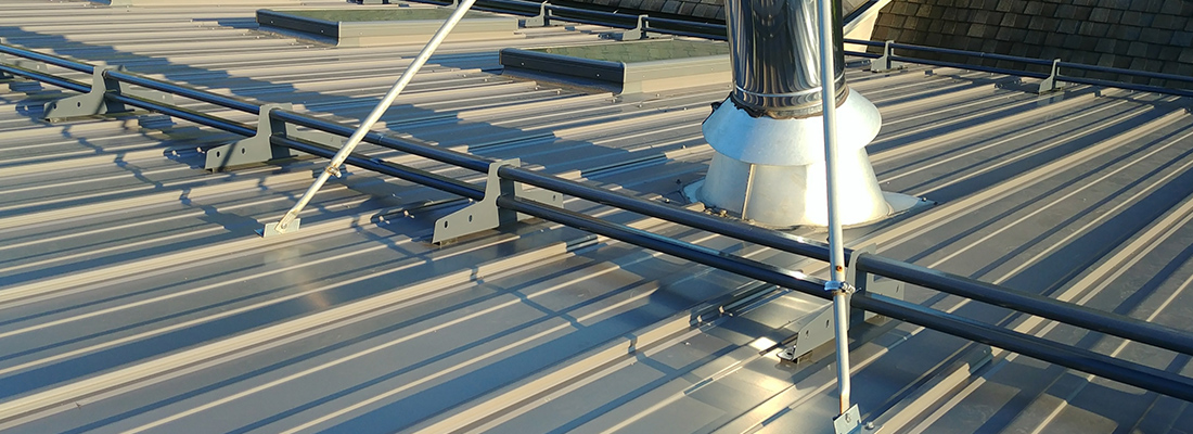 Metal Roof Snowguards Steel Roof Snow Stops Camero Metal Roofing In Toronto In The