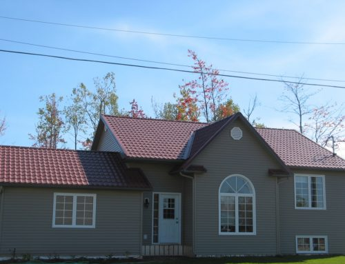 Metal and steel siding panels