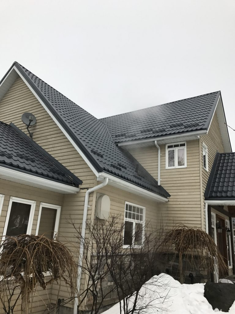 Metal Roofing Project In Georgian Bay Moore Point Rd Amp N